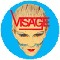 Visage Logo/Face BADGE 135822