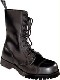 Schuhwerk / Boots & Braces 10 Loch, black - UK12 / D46 BOOTS 151441