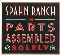 Spahn Ranch In Parts Assembled Solely CD 585669