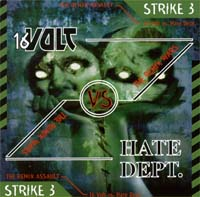 Remix Wars Strike 3: 16 Volt vs. Hate Dept. MCD 113447