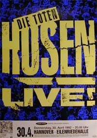 Toten Hosen Learning English - Tour POSTER 121135