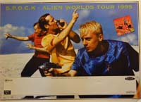 SPOCK Alien Worlds Tour '95 POSTER 126095