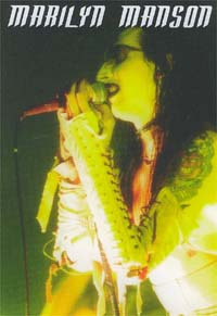 Marilyn Manson Yellow / Green Pic CARD 144252