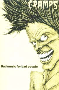 Cramps Bad Music For Bad People CARD 146194