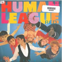 Human League Red 7'' 560809