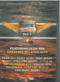 Various Artists / Sampler Rock Hits 1 DVD 560844