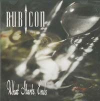 Rubicon What Starts End CD 566586