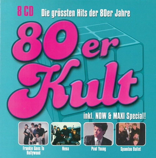 Various Artists / Sampler 80er Kult 8CDBOX 569382
