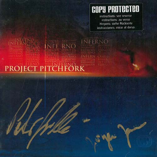 Project Pitchfork Inferno - Autographed CD 569496