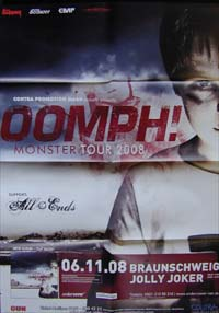 Oomph! Monster-Tour POSTER 577119