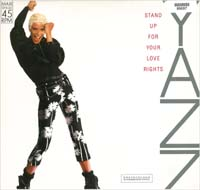 Yazz Stand Up - Red Vinyl 12'' 585057