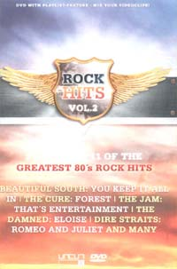 Various Artists / Sampler Rock Hits 2 DVD 589119