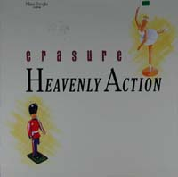 Erasure Heavenly Action - GER - gelb 12'' 590448