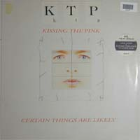 Kissing The Pink Certain Things Are Likely LP 596325
