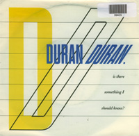 Duran Duran Is There Something I Should Know? 7'' 599455